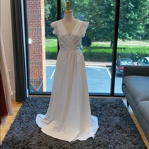 Theia ivory gown